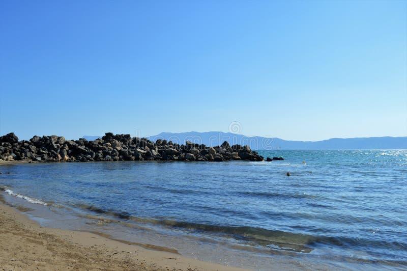 Isola del Crete fotografia stock libera da diritti