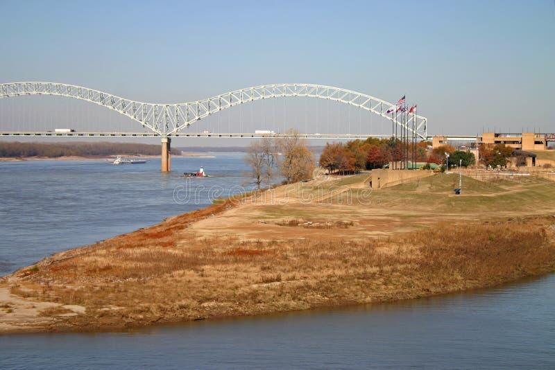 Isola del fango a Memphis immagine stock libera da diritti