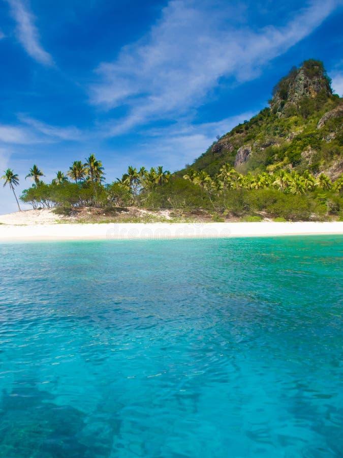 Isola del Fijian fotografie stock