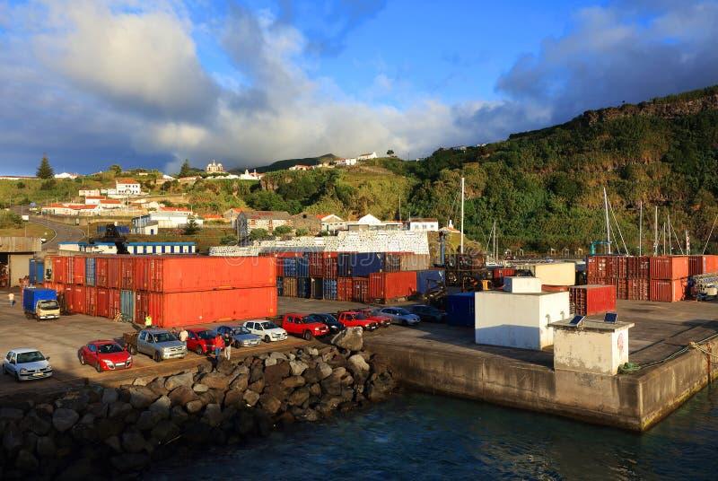 Isola del Flores fotografia stock