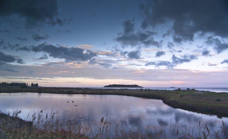 Isola del granito fotografie stock libere da diritti