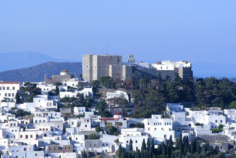 Isola del Greco di Patmos immagine stock libera da diritti