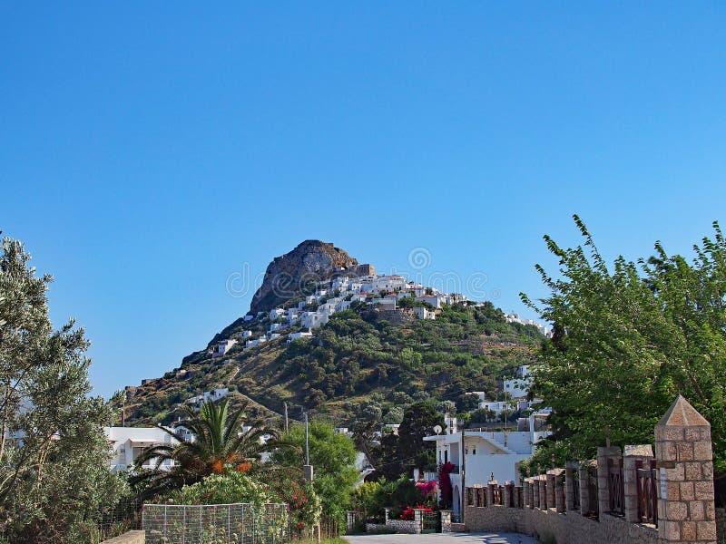 Isola del Greco di Skyros fotografia stock