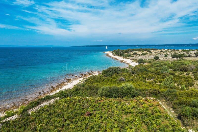 Isola del Mediterraneo fotografia stock libera da diritti