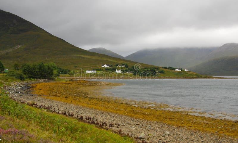 Isola del paesaggio di Skye in Scozia immagine stock libera da diritti