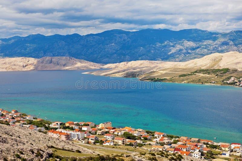 Isola del PAG, Croatia immagini stock