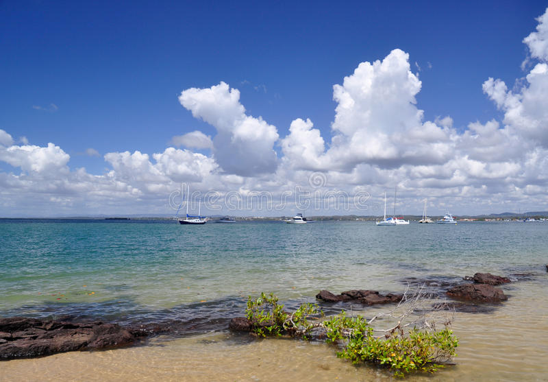 Isola del South Pacific fotografia stock libera da diritti