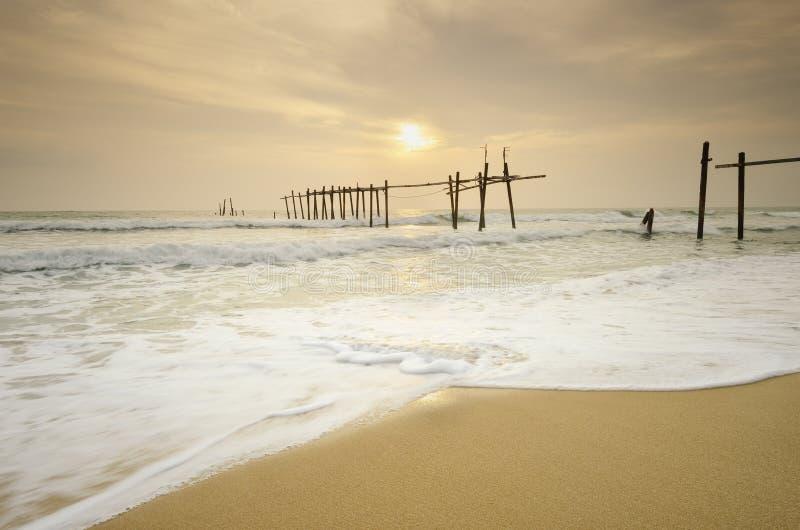 Isola in del sud della Tailandia immagini stock