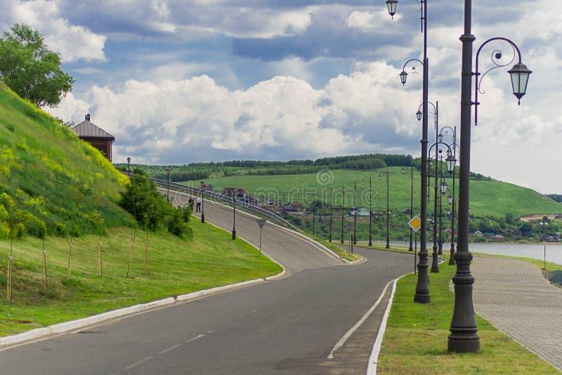 Isola del Tatarstan Sviyazhsk fotografia stock