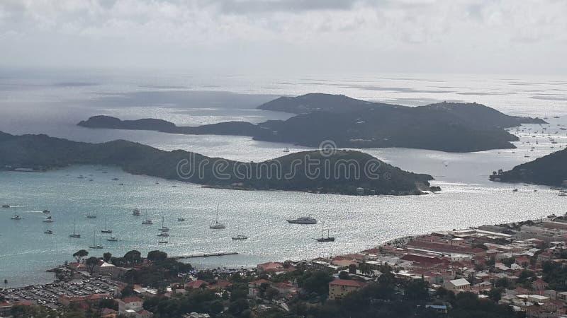 Isola del Thomas santo fotografia stock