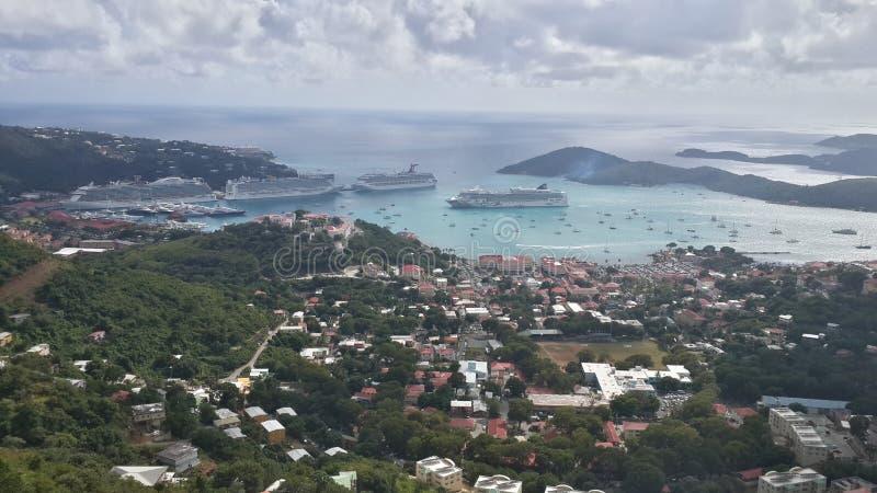 Isola del Thomas santo fotografia stock libera da diritti
