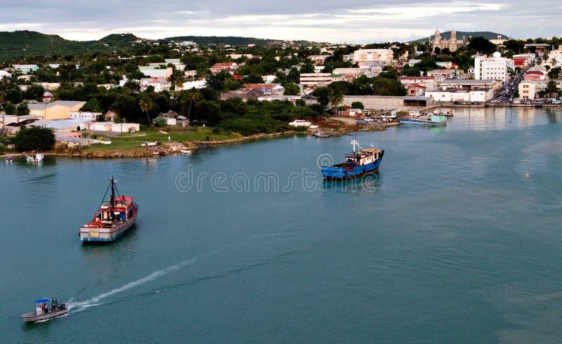 Isola dell'Antigua immagini stock libere da diritti