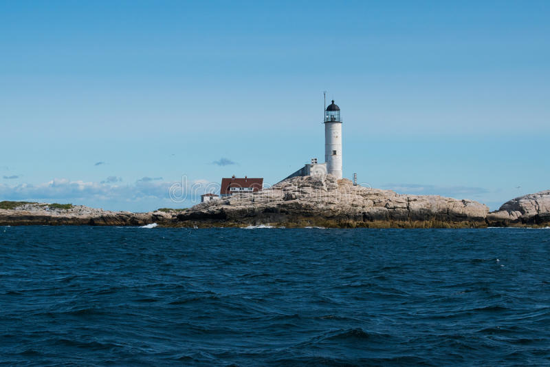 Isola della luce bianca immagine stock
