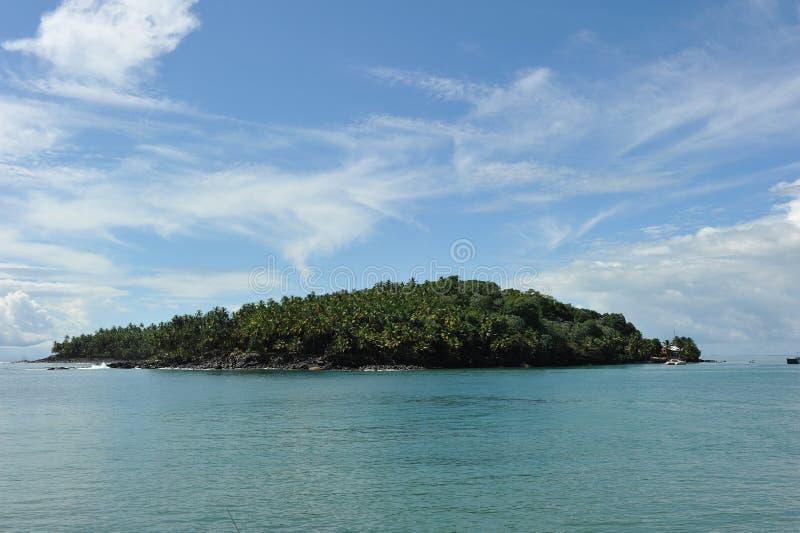 Isola della st Joseph, Guiana francese fotografia stock