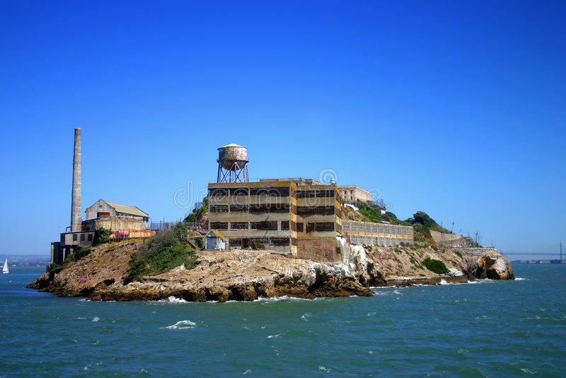 Isola di Alcatraz, San Francisco fotografie stock