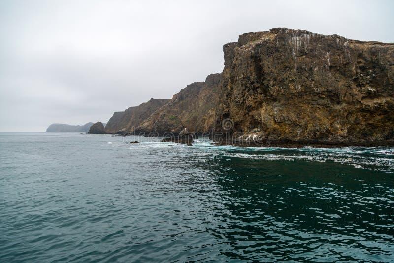 Isola di Anacapa fotografie stock