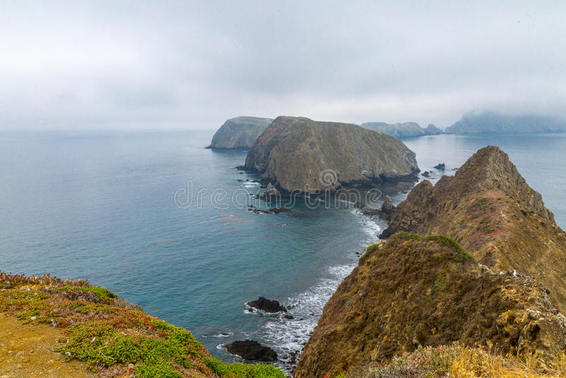 Isola di Anacapa immagine stock libera da diritti