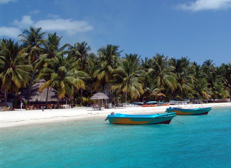 Isola di Bangaram, Lakhwadeep, India immagine stock libera da diritti
