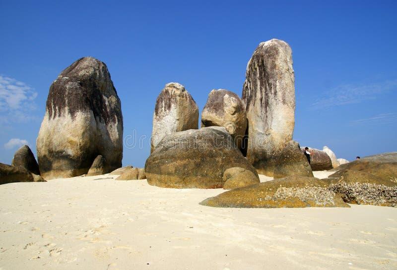 Isola di Batu Berlayar, Indonesia fotografia stock