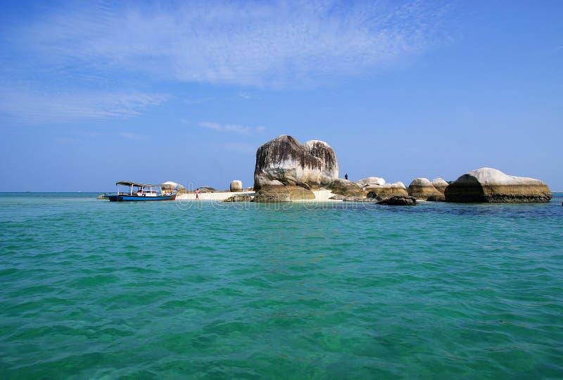 Isola di Batu Berlayar, Indonesia fotografie stock libere da diritti
