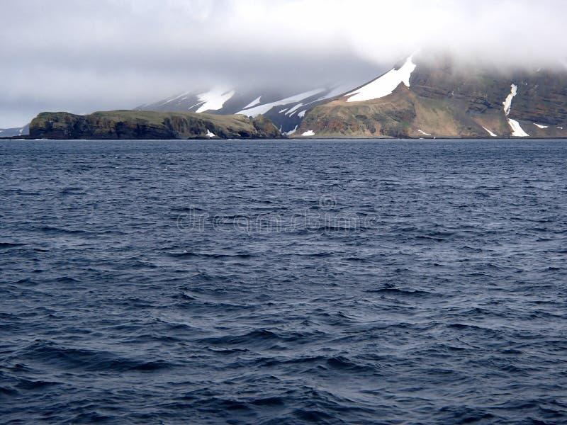 Isola di Bering il mare di Bering, comandante Islands fotografia stock libera da diritti