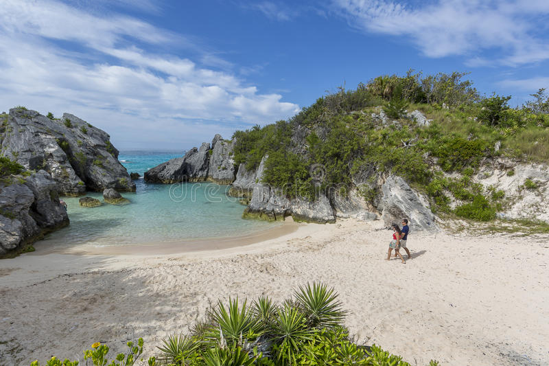 Isola di Bermude fotografie stock libere da diritti