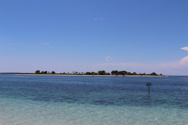 Isola di Bidadari (isola di angelo) fotografia stock libera da diritti