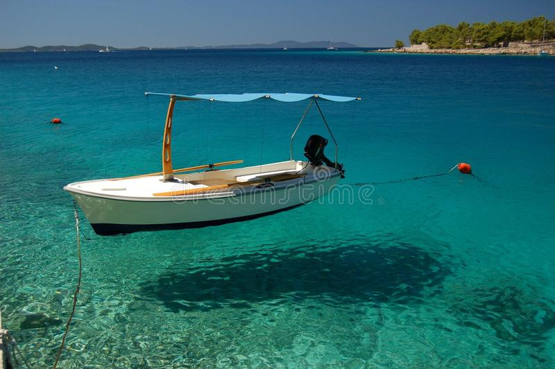 Isola di Brac nel Croatia immagine stock