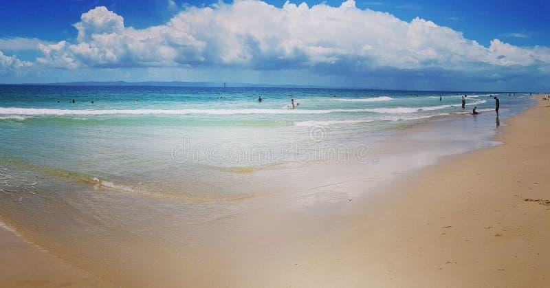 Isola di Bribie, Queensland, Australia immagine stock libera da diritti