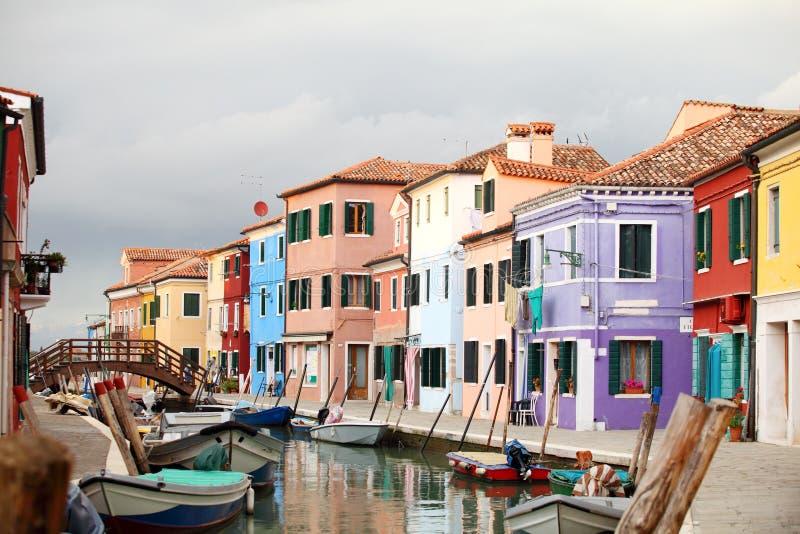 Isola di Burano, Venezia fotografie stock libere da diritti