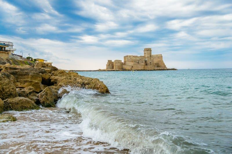 Isola di Capo Rizzuto, la province de Crotone, Calabre, Italie photo libre de droits