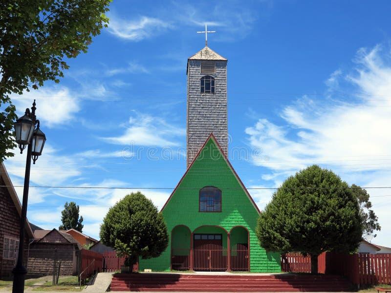 Isola di Chiloe, peperoncino rosso fotografia stock libera da diritti