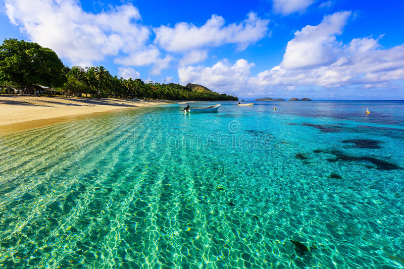Isola di Dravuni, Figi immagine stock