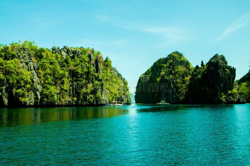 Isola di EL Nido, Palawan, Filippine immagine stock libera da diritti