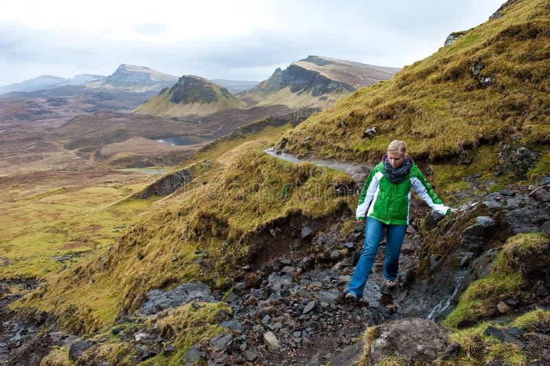 Isola di escursione di Skye immagine stock libera da diritti