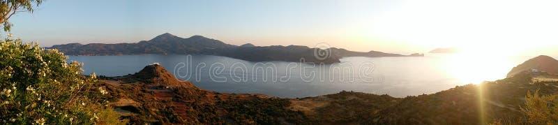 Isola di Folegandros immagini stock libere da diritti
