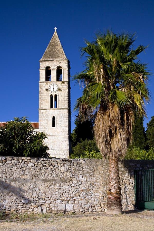 Isola di forza nel Croatia immagine stock