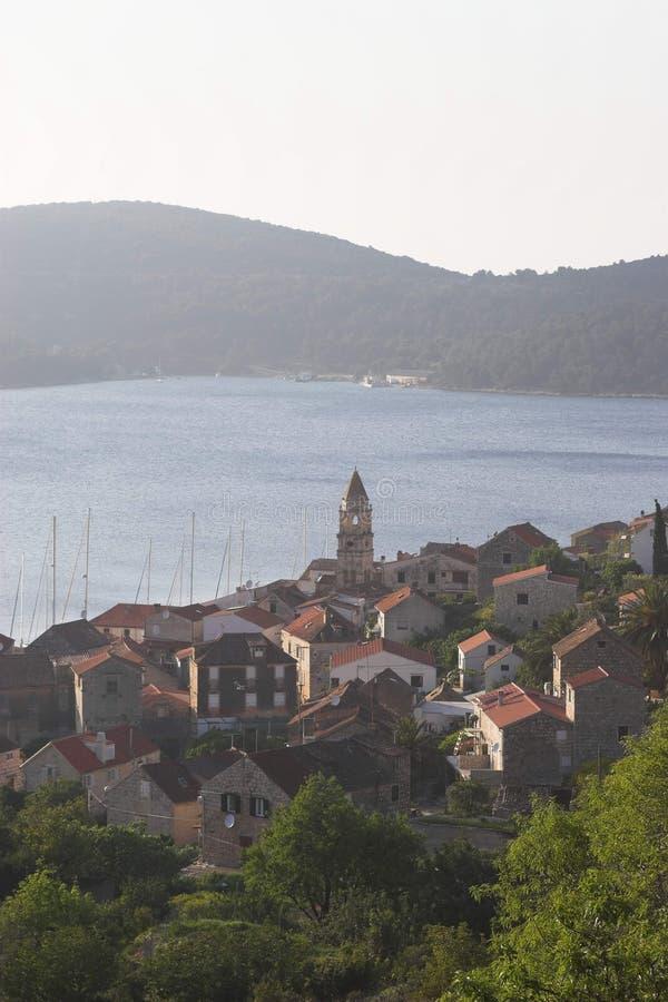 Isola di forza nel Croatia immagini stock