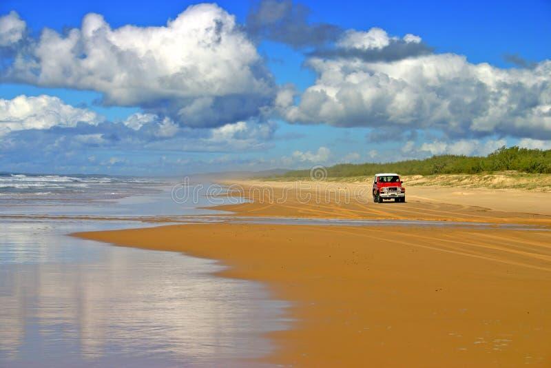 Isola di Fraser, Australia immagini stock