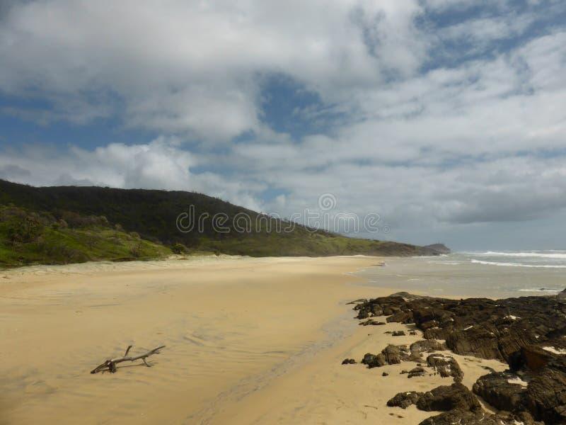 Isola di Fraser, Australia fotografia stock