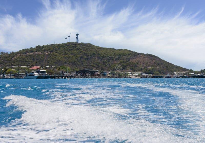 Isola 0257 di giovedì fotografie stock libere da diritti