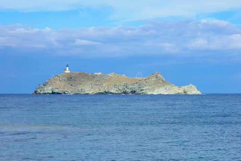 Isola di Giraglia fotografia stock libera da diritti