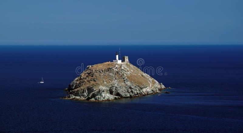 Isola di Giraglia fotografia stock