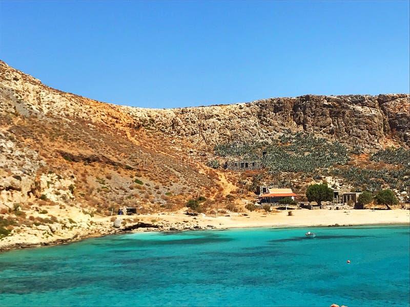 Isola di Gramvousa immagini stock libere da diritti