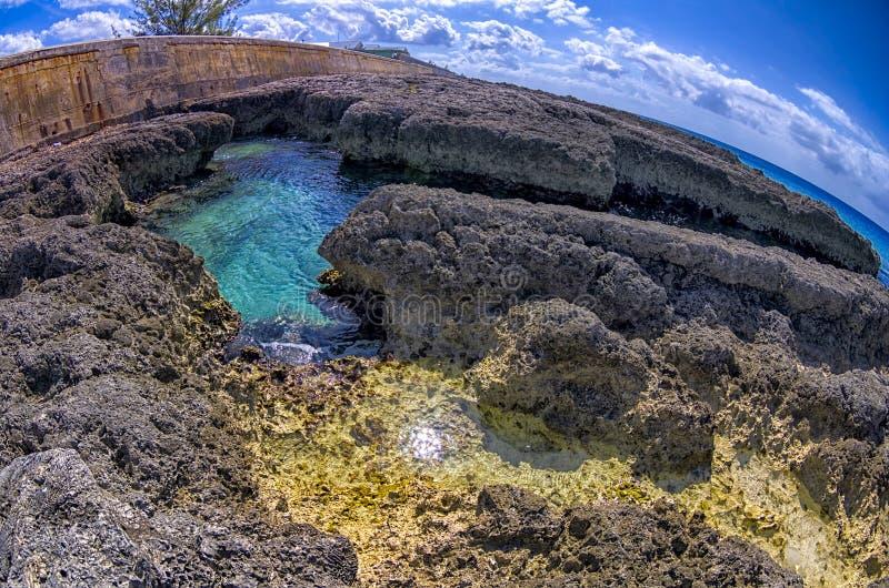 Isola di Grand Cayman fotografie stock