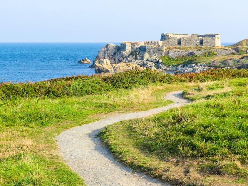 Isola di Guernsey fotografia stock libera da diritti