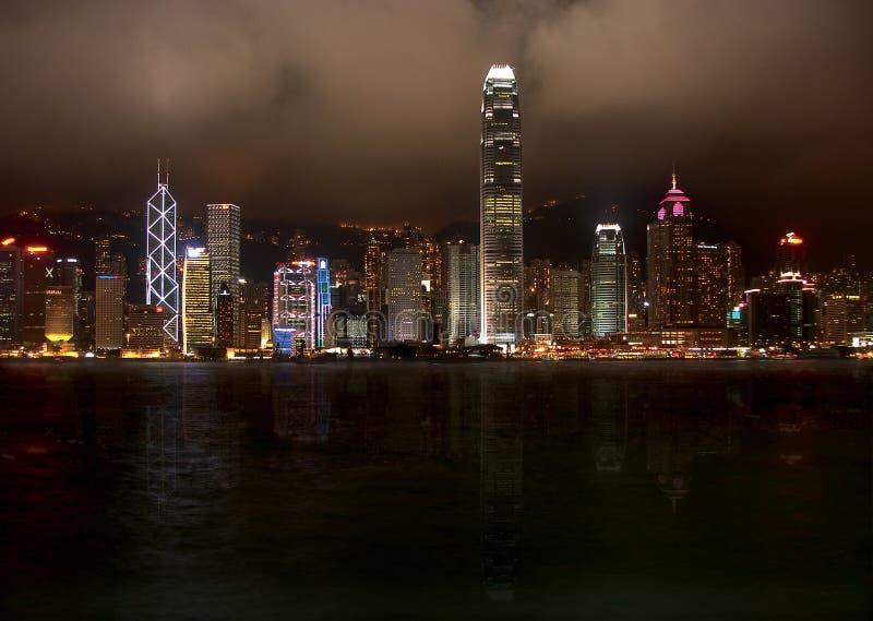 Isola di Hong Kong immagine stock