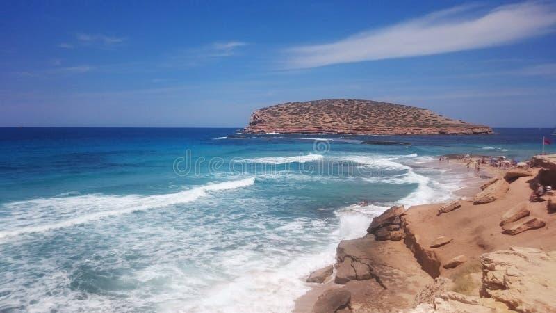 Isola di Ibiza fotografia stock libera da diritti