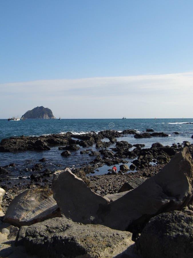 Isola di Jeju fotografia stock