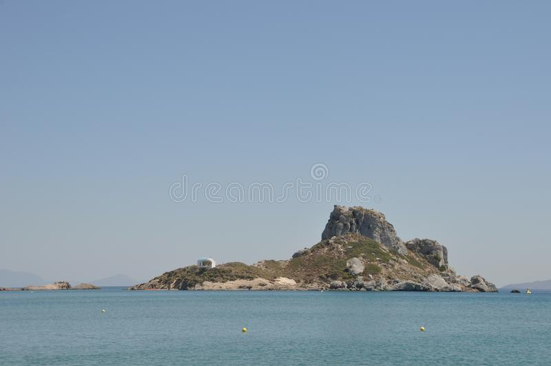 Isola di Kefalos immagine stock